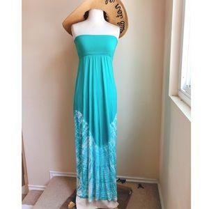 Gypsy 05 Tie Dye Maxi Two Way Dress Skirt